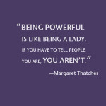 Wise Words: Margaret Thatcher on Leadership