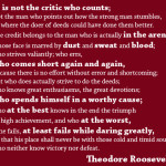 Wise Words: Theodore Roosevelt