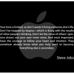 Wise Words: Steve Jobs on Time